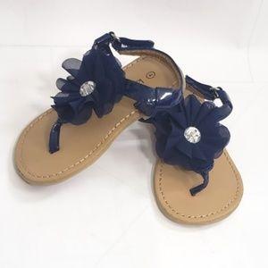 3/$15 Koala kids T Strap Flower Sandals Size 4